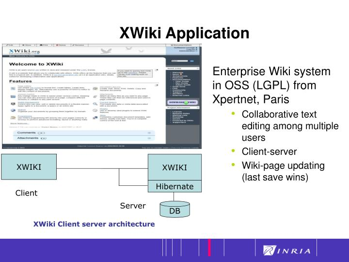 Xwiki application