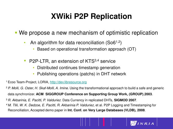 XWiki P2P Replication