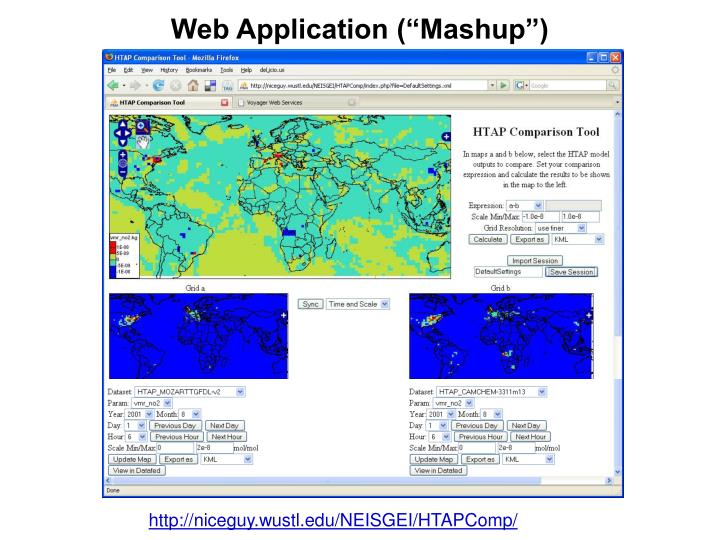 "Web Application (""Mashup"")"