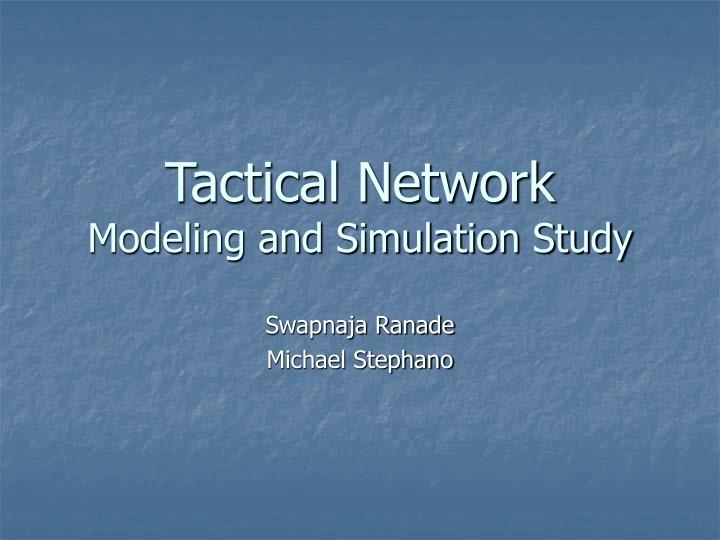 Tactical Network