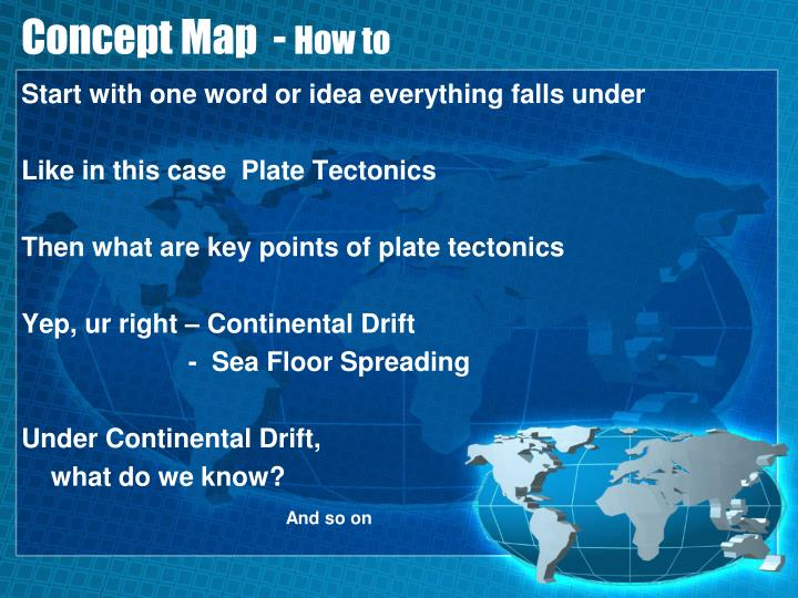 Concept Map  -