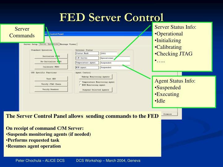 FED Server Control