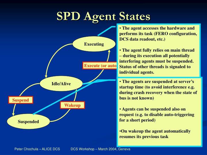 SPD Agent States