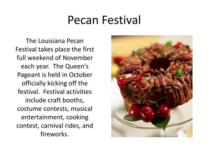 Pecan Festival