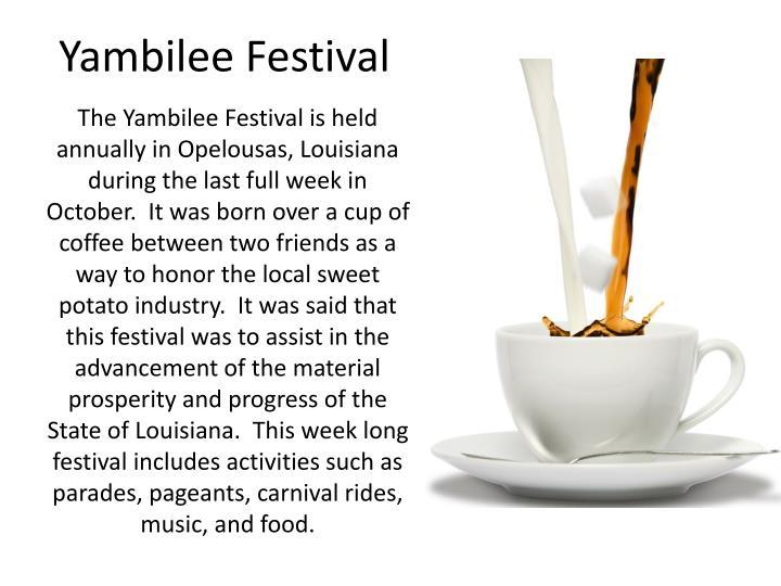 Yambilee Festival