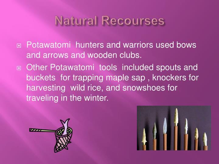 Natural Recourses
