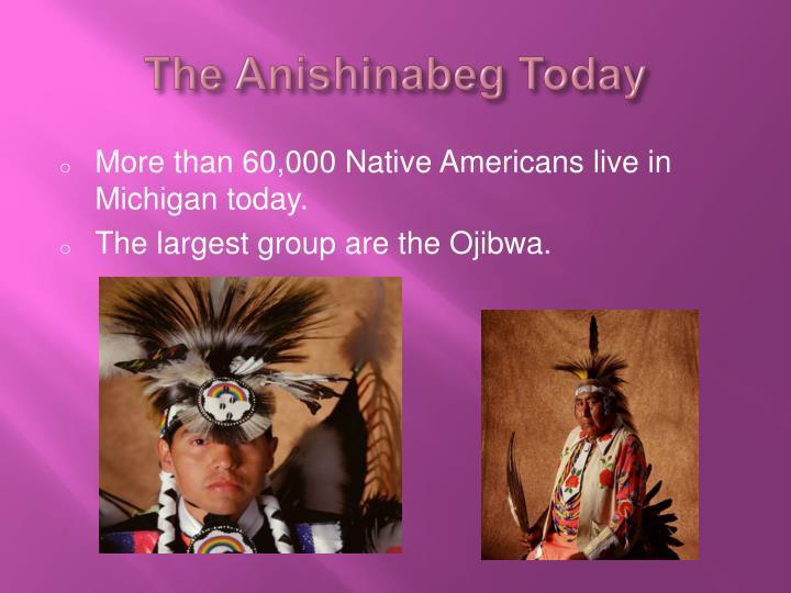 The Anishinabeg Today