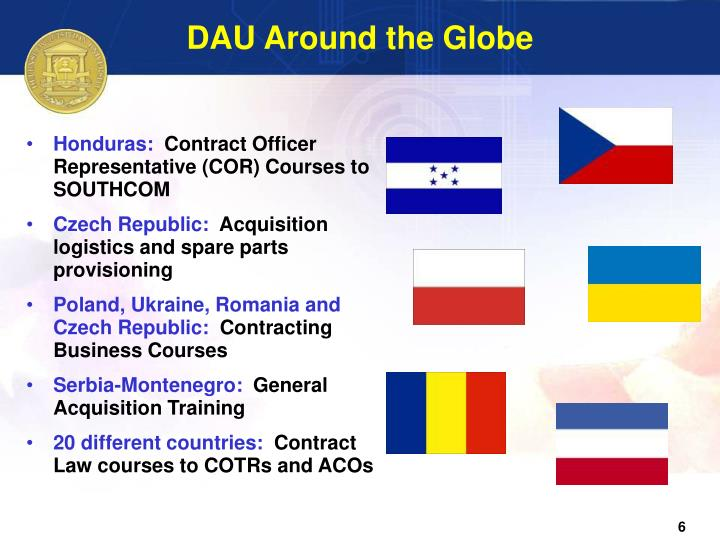 DAU Around the Globe