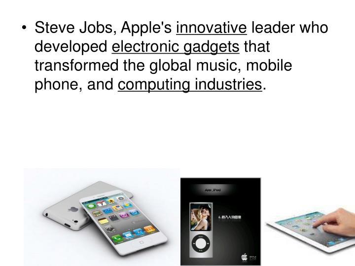 Steve Jobs, Apple's