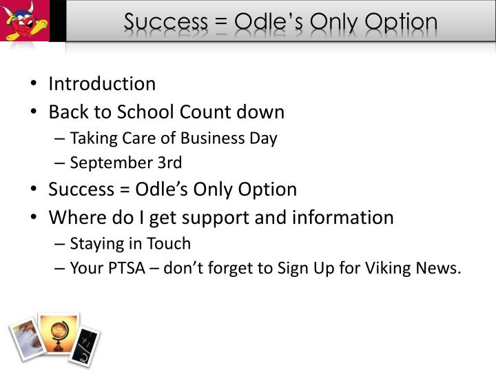 Success =