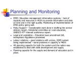 planning and monitoring1