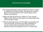 b consensus and rights2