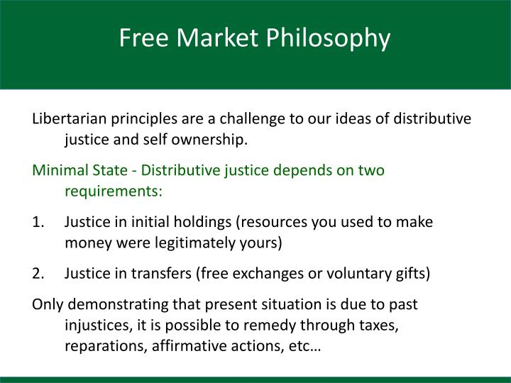 Free Market Philosophy