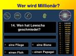 wer wird million r14