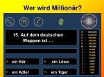 wer wird million r15