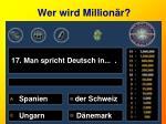 wer wird million r17