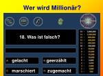 wer wird million r18