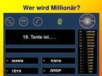 wer wird million r19