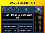 wer wird million r4