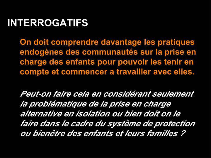 INTERROGATIFS