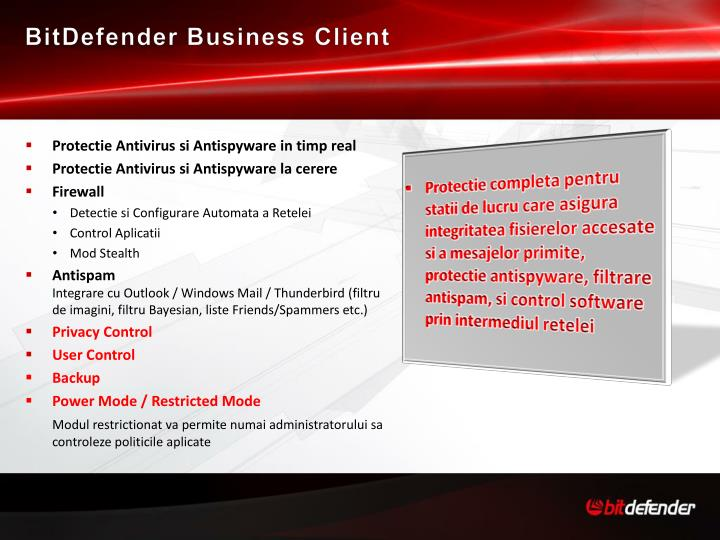 BitDefender Business Client