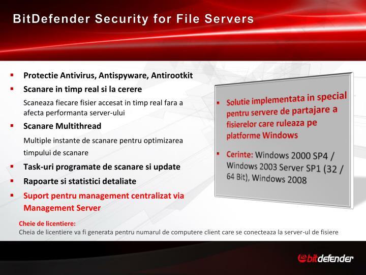 BitDefender Security for File Servers