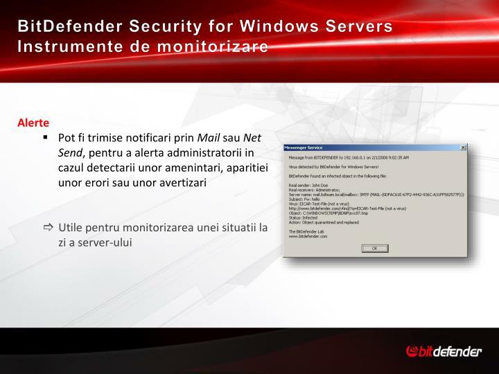BitDefender Security for Windows Servers