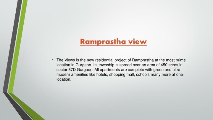 Ramprastha view
