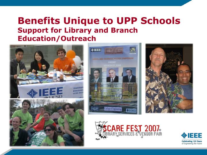 Benefits Unique to UPP Schools