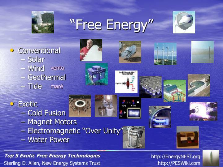 """""""Free Energy"""""""