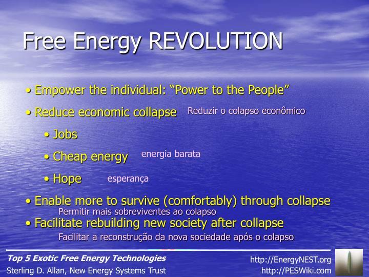 Free Energy REVOLUTION