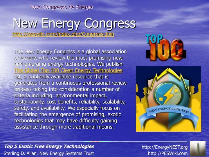 Novo Congresso de Energia
