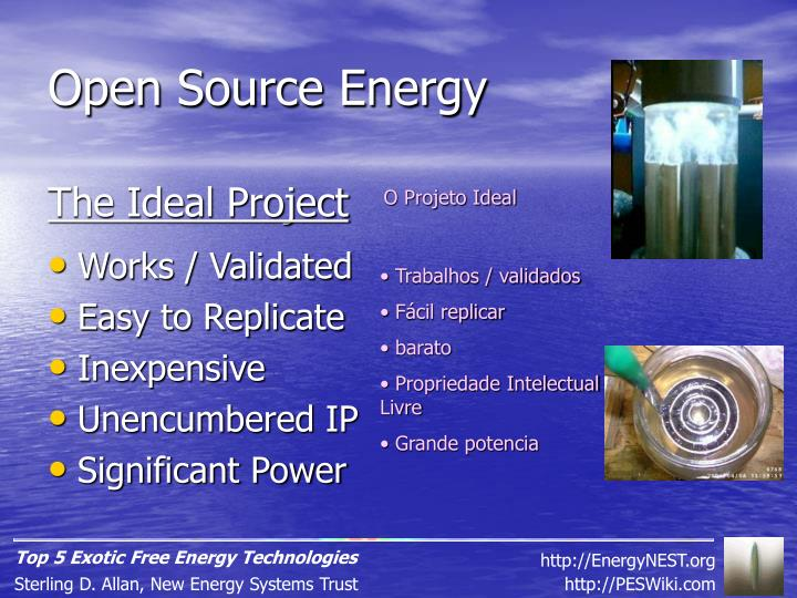 Open Source Energy