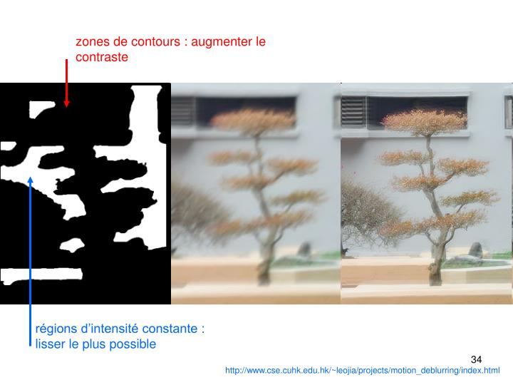zones de contours : augmenter le