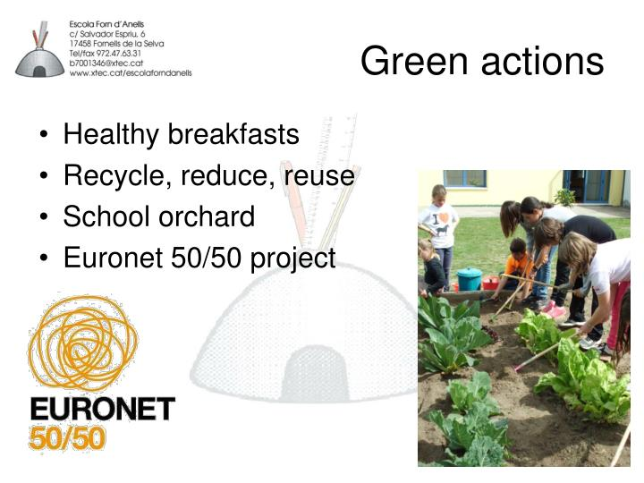 Green actions