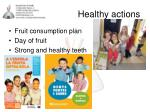 healthy actions