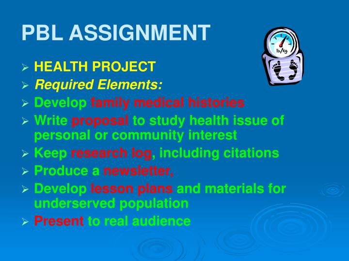 PBL ASSIGNMENT