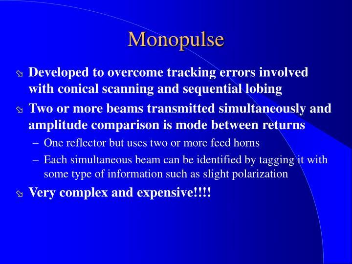 Monopulse