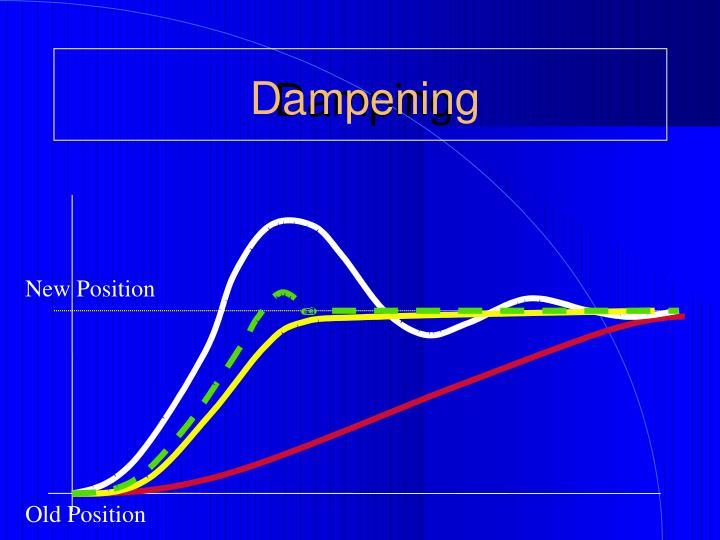 Dampening