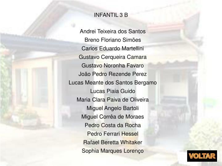 INFANTIL 3 B