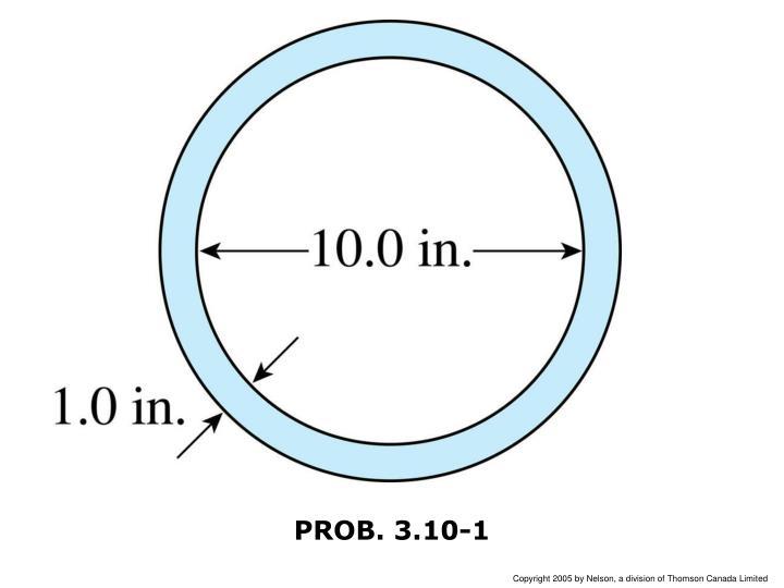 PROB. 3.10-1