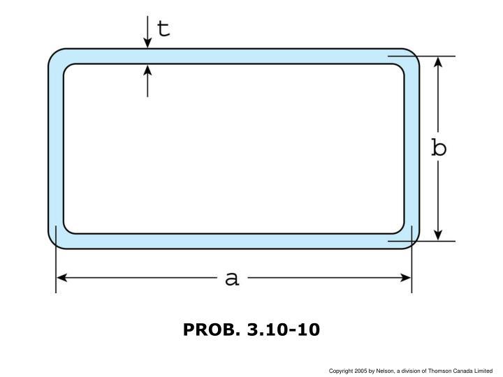 PROB. 3.10-10