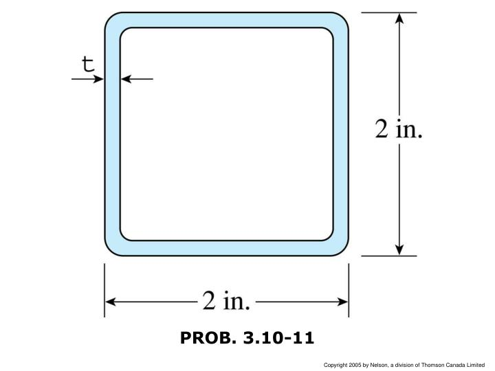 PROB. 3.10-11