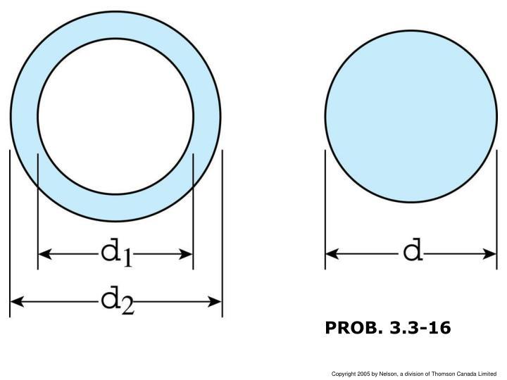 PROB. 3.3-16