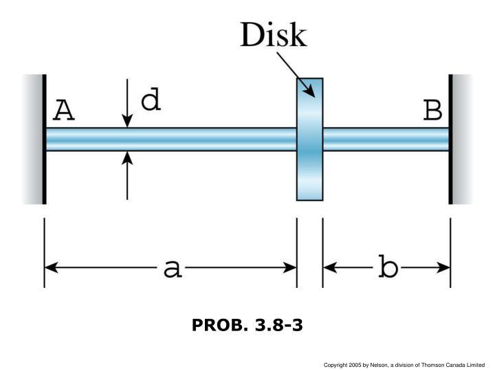PROB. 3.8-3