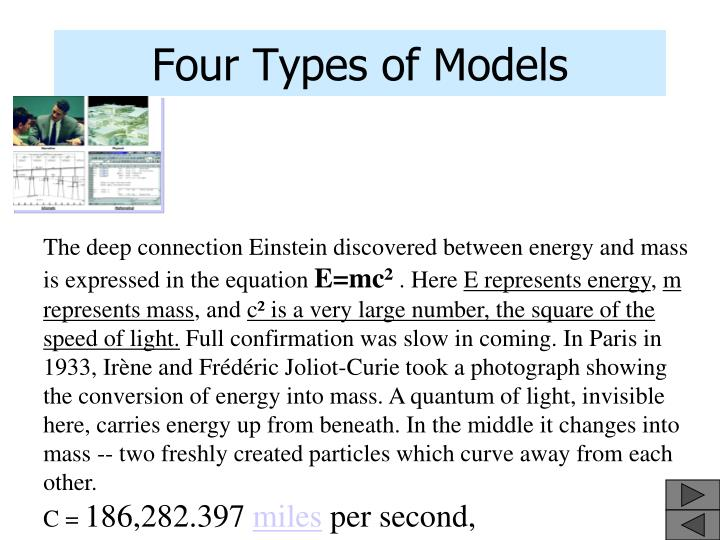 Four Types of Models
