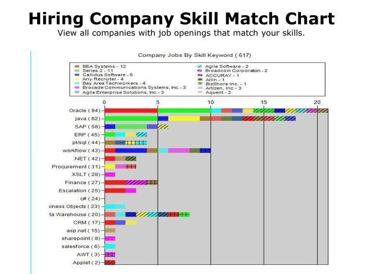 Hiring Company Skill Match Chart