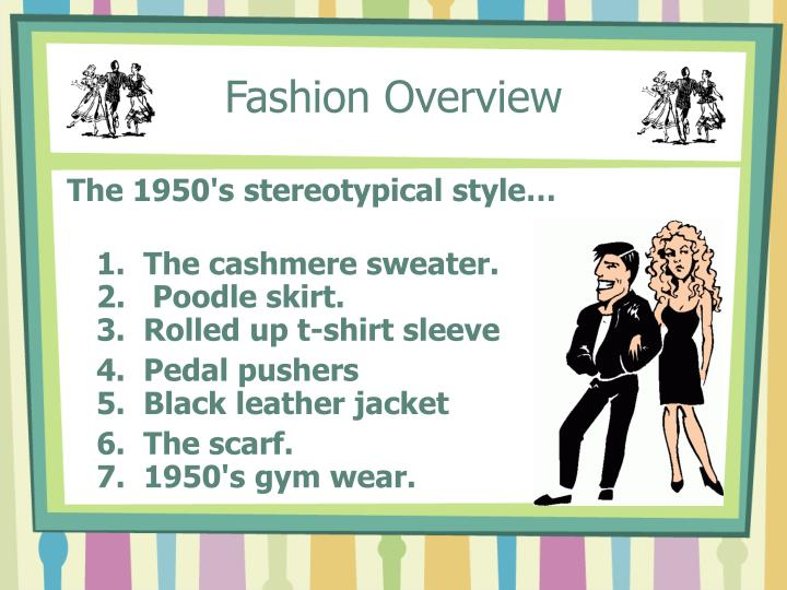Fashion Overview