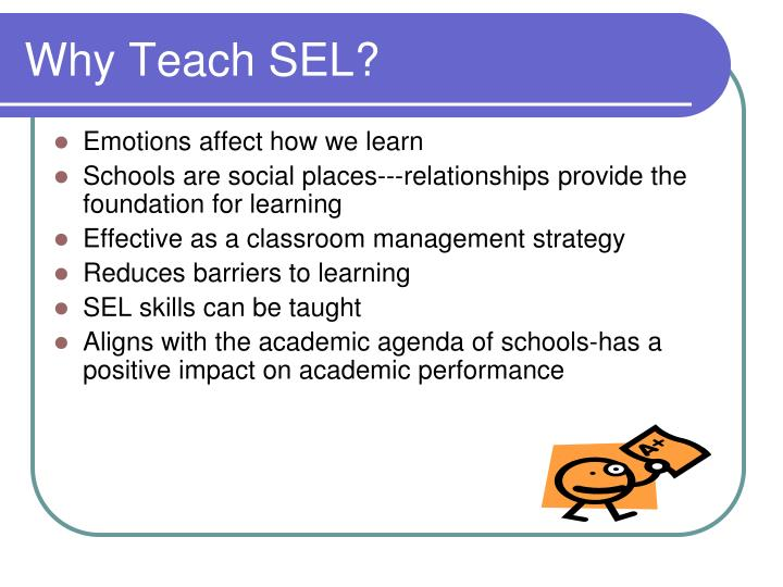 Why Teach SEL?
