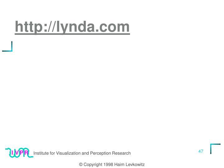 http://lynda.com